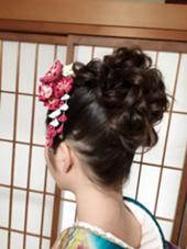 成人式! Fine's Hair BOW所属・大谷佳江のスタイル