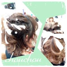 リボンと編み込みセット☆☆ hair&make chouchou所属・米澤澄絵のスタイル