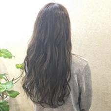 グレージュカラー★ WUV HAIR所属・佐藤千波のスタイル