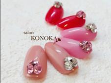キラキラボール(Vカットストーン)片手1本づつで¥500 salon  KONOKA所属・小野里美のフォト
