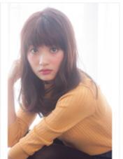 『ワンカール重めセミディ』  重めの質感重視のセミディです♪ SungooseTOKYO所属・店長渡辺タカノリのスタイル