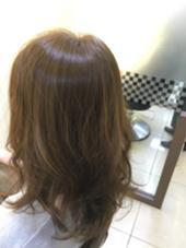 ダブルカラーで透明感のある髪色に! FACE。磯子所属・田爪俊也のスタイル