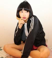 黒髪でもかわいいショートボブ hairSUNDY所属・ヤスギエリコのスタイル