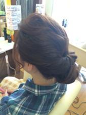 くるりんぱセット♪ ings hair(イングス・ヘアー)所属・中村苑未のスタイル