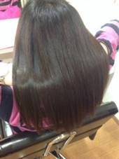 縮毛矯正+トリートメント! charm hair resort所属・charmhairのスタイル