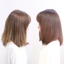 黄色に退色した髪をモーブ系のピンクに❤️ PureWave所属・阿武ナルキのスタイル