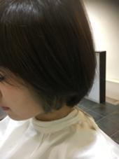 インナーカラー>>みどり ハピネス クローバー 学園前店所属・西森恵美のスタイル