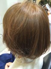 ダブルカラー☆ ハイトーンのシナモンアッシュ!!! Hair&Nail Lee西宮店所属・大津加貴則のスタイル
