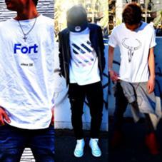 オリジナルTシャツ作ってます ヘアリゾートAI新宿店所属・中杉健太郎のスタイル
