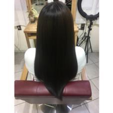 ❤︎ ブルージュ 6トーン ❤︎ 長南磨依のロングのヘアスタイル