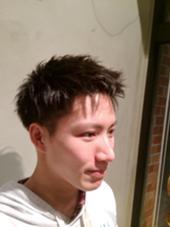 スッキリ刈り上げて男らしいスタイリングに。 BAROQUE所属・久光翔平のスタイル