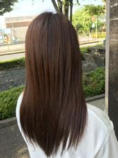 ストレート! Fine's Hair BOW所属・大谷佳江のスタイル