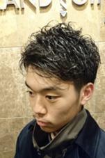 パーマスタイル  barbier GRAND GINZA所属・菊地武治 グラン マネージャーのスタイル