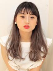 パールベージュ × グラデーション hairSUNDY所属・中原結のスタイル