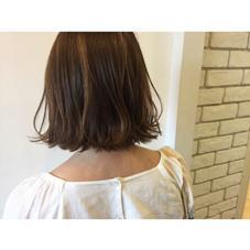 切りっぱなしボブ✂︎ [+]tag's所属・中野美菜子のスタイル