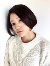トリートメント効果で、大人つやボブスタイル☆ shiang(シアン)所属・かやぬまあやのスタイル