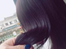 色落ちきれいなブルーバイオレット Grace Festa'所属・米澤莉里のスタイル