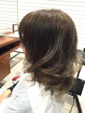 透明感のあるアッシュブラウン‼︎ HAIR&MAKE EARTH二俣川所属・平賀凌のスタイル