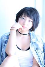 秋冬オススメ首元スッキリショート CIEL Hair Salon所属・及川翔のスタイル