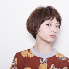 ショートボブ atoro  horie所属・岡邉隆太のスタイル