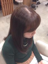 くせ毛はブローでここまでのびます(^-^) AmaN所属・ながさわたくやのスタイル