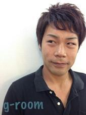 カットレザーでつくるメンズショート♪ Hair Salon g-room所属・大山雅矢のスタイル