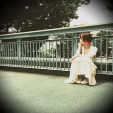 ブリーチ✖︎2回で、ビビットピンクを重ねてみました!風がなびくたびにチラッと見えるカラー☆ saki☆yamのスタイル