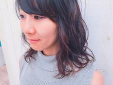 ふわふわナチュラルパーマ♡ terra by afloat所属・松子のスタイル