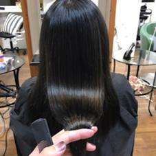 ストレートパーマ✨ Hair Trip's所属・寺門光のスタイル