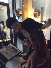 メイクもお任せ〜♪ Aju-r hair design(アジュールヘアデザイン)所属・前田海希のスタイル