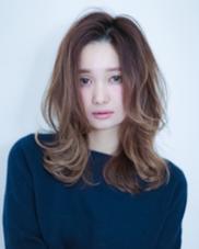 外国人風ブルージュグラデーションカラー HAPPINESS心斎橋店所属・Tomoのスタイル