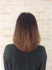 のばし途中の髪でもすこしレイヤーを入れてあげるだけで変化がでます! ICHIRIN千葉所属・中村レミのスタイル
