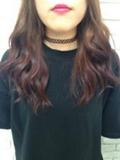 ベリー系のグラデーション♡ かわいい!♡ agir hair所属・河合真里奈のスタイル