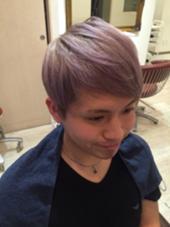 ブリーチオンカラー abie hair 住吉店所属・松尾美咲のスタイル