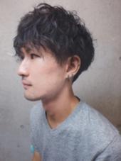 無造作ウェーブ SENSE hair所属・吉野大典のスタイル