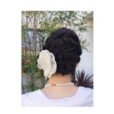 ボブスタイルのヘアセット 結婚式お呼ばれセット Rian徳重店所属・stylist吉江 里奈のスタイル