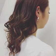 ナチュラルブラウンカラー Hair Salon Lapis所属・手塚有観のスタイル