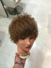 極細束感ショートマッシュ!! 小顔効果➕モテ前髪で誰からでも愛されるメンズスタイルへ!!毛量調整も束感が出やすいようにその人にあった量にします^ ^ エルドラード所属・大月渉のスタイル