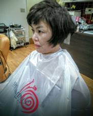 髪にダメージが、進んでおり。髪の艶を復活させる為に、すきバサミ使いませんでした Styling Shop SuFaY's所属・川端良壽のスタイル