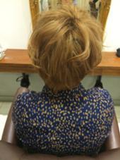 ショートブロンドcolor LOUVRE total beauty salon 生駒店所属・山本聖華のスタイル