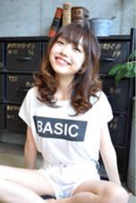 ミディボブ ロブ ゆるふわ piece201所属・増田優作のスタイル