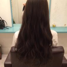 ash beige♡ kiki hair works所属・karimatachikaのスタイル
