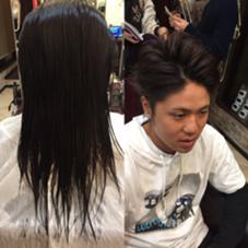 玉城光のメンズヘアスタイル・髪型