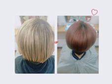 オレンジレッド♡ hair&make POSH所属・梶谷実里のスタイル