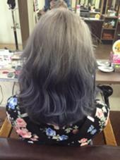 S/Sトレンド 個性派グラデーションカラー hair Mission所属・SasakiRuiのスタイル