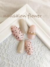 ガーリーアニマルネイル♡ nailsalon   flower所属・nail salonflowerのフォト