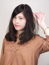 private hair saron  iris所属・天野千樹のスタイル
