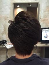 アシメショート♪( ´▽`) Hair resort Ai 上野店所属・富樫光のスタイル