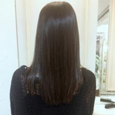 縮毛矯正とトリートメントでサラサラの髪に! CAPA下北沢所属・クリバヤシハルカのスタイル