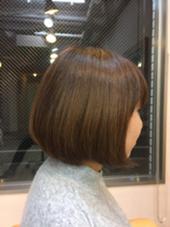ガッキー風ショートカット HAiR SPIN所属・コマツハヤトのスタイル
